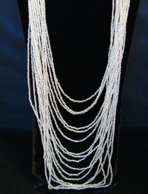 1920s flapper necklace