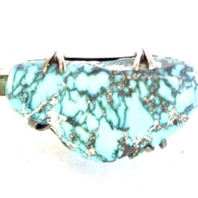 Victorian Turquoise Bar Brooch
