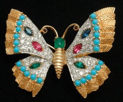Jomaz/Mazer brother butterfly jewellery
