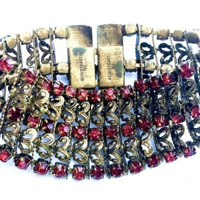 Art Deco Czech Bracelet