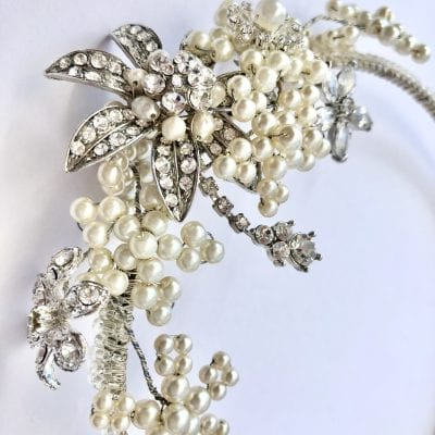 Vintage Bridal Headdress
