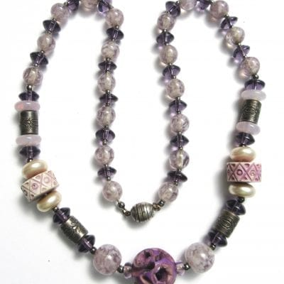 Louis Rousselet Purple Necklace