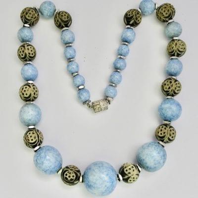 Louis Rousselet Blue Necklace