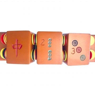 Bakelite Mahjong Bracelet