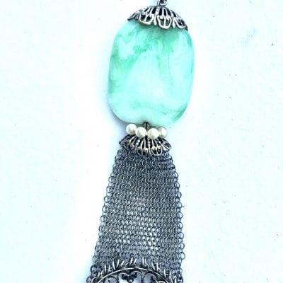 Louis Rousselet green necklace