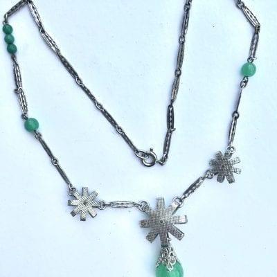 Louis Rousselet Flower Necklace