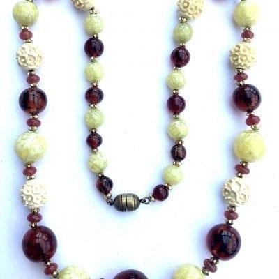 Louis Rousselet Glass Necklace
