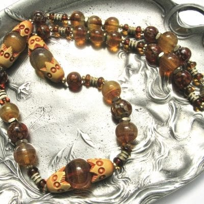 Louis Rousselet Amber Necklace