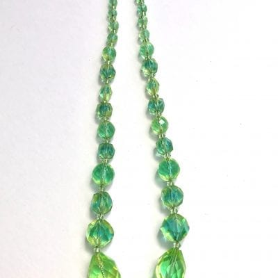 1930s Uranium Glass Beads