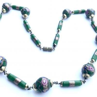 Green Wedding Cake beads