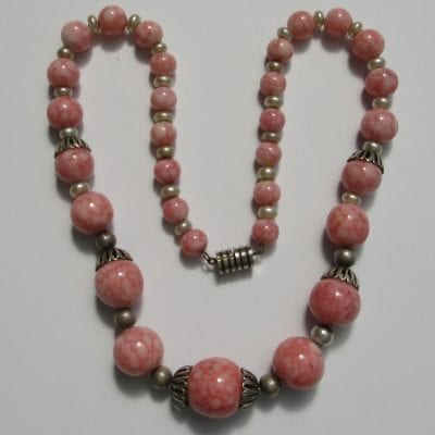 Louis Rousselet Pink Necklace