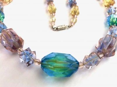 1920s Uranium Necklace
