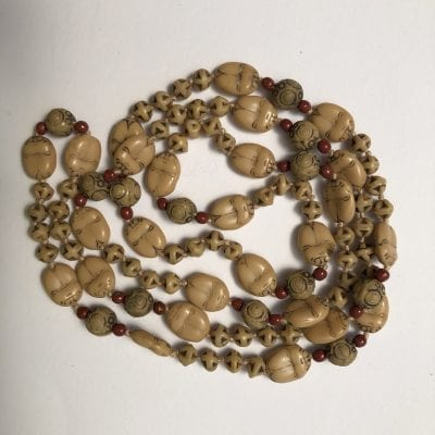 Neiger Scarab 1920s Beads