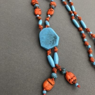 Neiger Egyptian Revival Beads