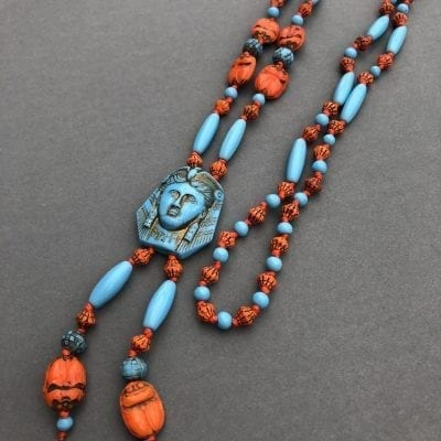 Neiger Egyptian Revival Beads