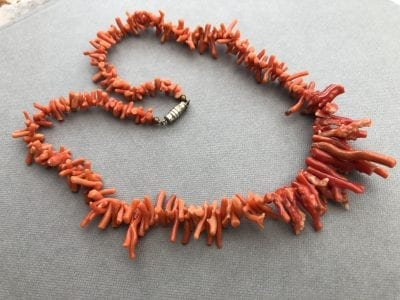 Coral Bark Necklace