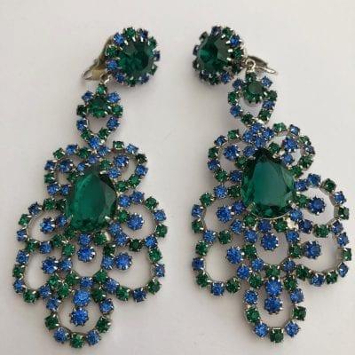 Hattie Carnegie 1950s Earrings
