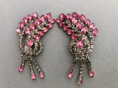 1950s Ear Cuff Earrings