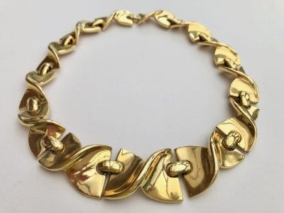 Givenchy 1980s Panel Necklace