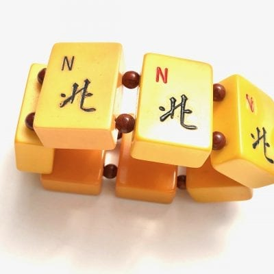 Mahjong Bakelite Bracelet