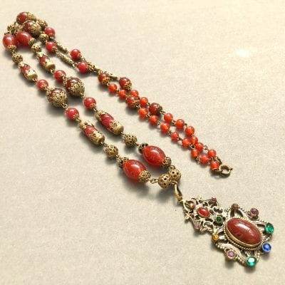 1920s Czech Neiger Necklace