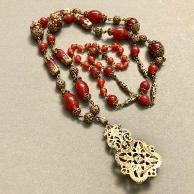 1920s Czech Neiger Necklace
