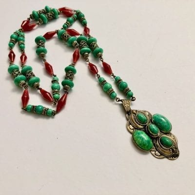 1920s Neiger Bead Necklace