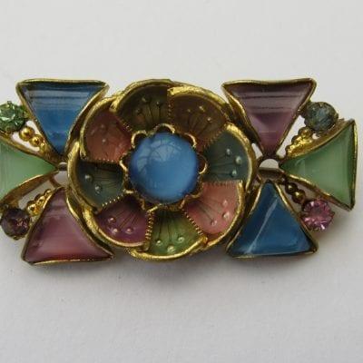 Neiger 1930s Flower Brooch