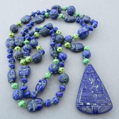 Neiger Egyptian Scarab Beads