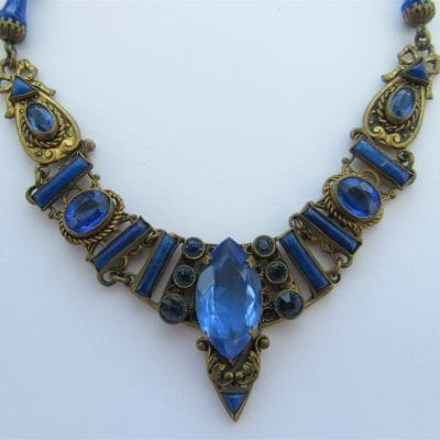 Neiger 1920s Egyptian Necklace