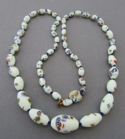 Czech Millifiori Uranium Beads