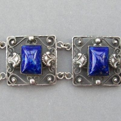 Art Deco Egyptian Bracelet