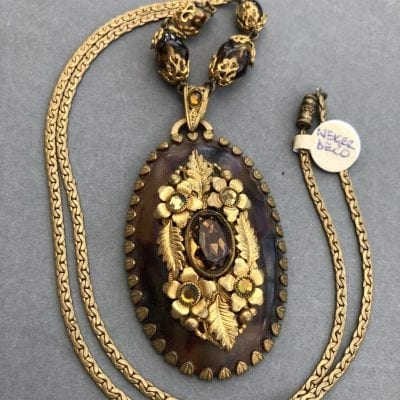 Neiger 1920s Galalith Necklace
