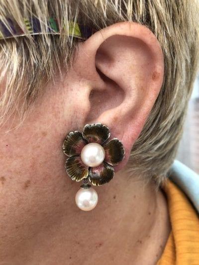 1980s P Ferrandis Earrings