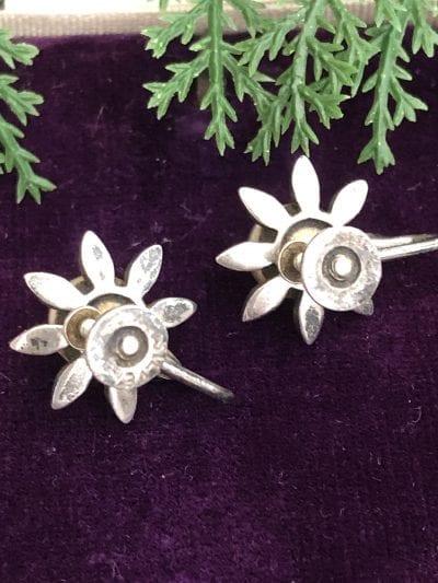 1930s Pearl Marcasite Earrings