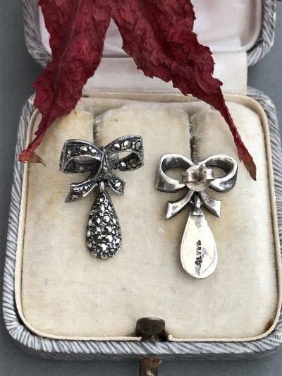 1930s-1940s Marcasite Earrings