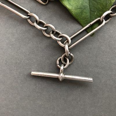 Silver Albert Chain