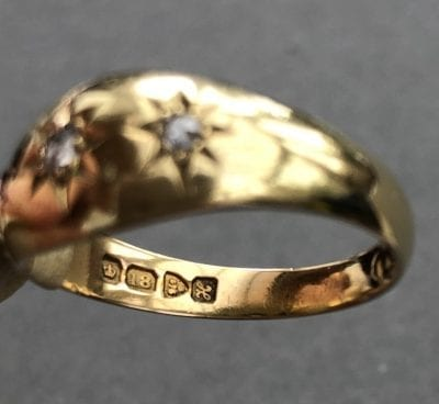 Victorian Diamond Gypsy Ring