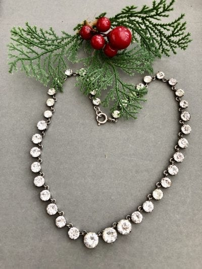 Victorian Silver Riviere Necklace