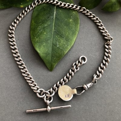 Silver Albert Watch Chain