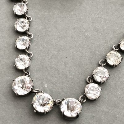 Victorian Silver Riviere Necklace