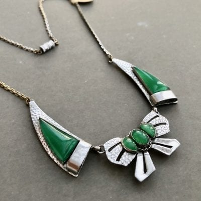 Jakob Bengel Bow Necklace