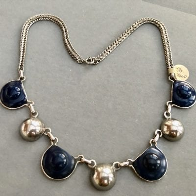 Jakob Bengel Navy Necklace